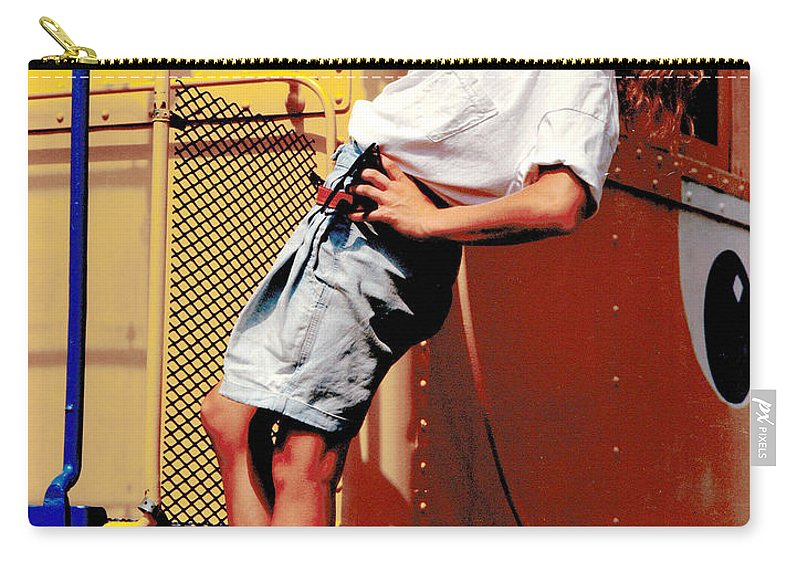 Gary Gingrich Carry-all Pouch featuring the photograph Katie Caboose by Gary Gingrich Galleries
