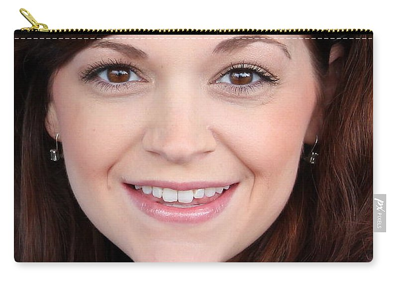 Katy Ingram Carry-all Pouch featuring the photograph Katy Eyes Head Shot by Reid Callaway