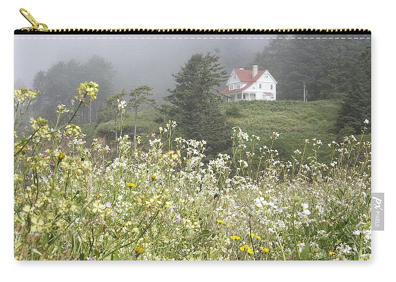 House Carry-all Pouch featuring the photograph Keepers House by Laddie Halupa