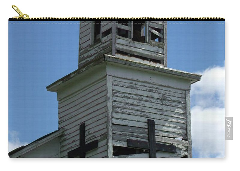 Church Carry-all Pouch featuring the photograph Keeping The Faith by Wendy Gertz