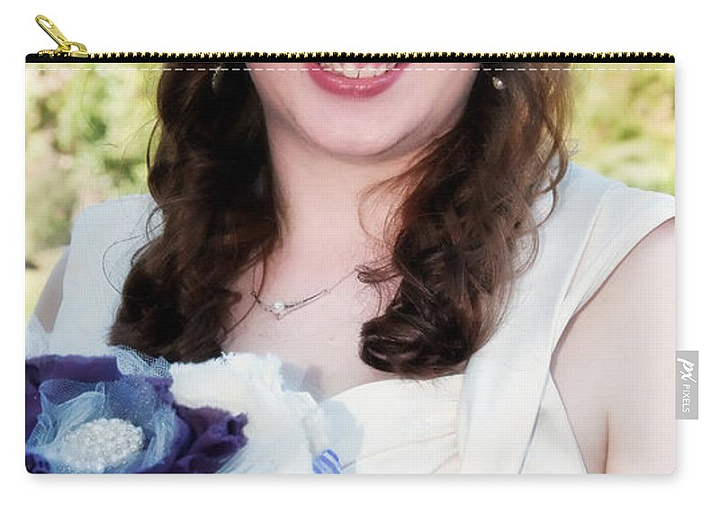 Bride Carry-all Pouch featuring the photograph Keira by Kathleen K Parker