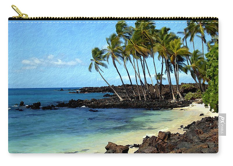 Hawaii Carry-all Pouch featuring the photograph Kekaha Kai II by Kurt Van Wagner