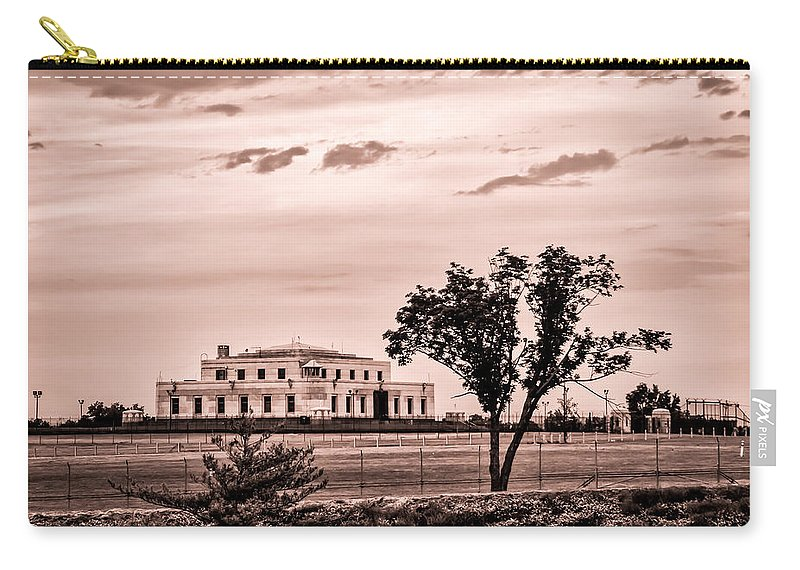Bullion Depository Carry-all Pouch featuring the photograph Kentucky - United States Bullion Depository Fort Knox by Ron Pate