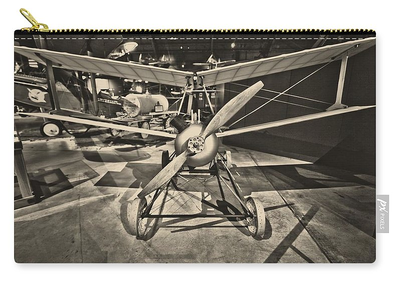 Kettering Aerial Torpedo Bug Carry-all Pouch featuring the photograph Kettering Aerial Torpedo Bug by Dan Sproul