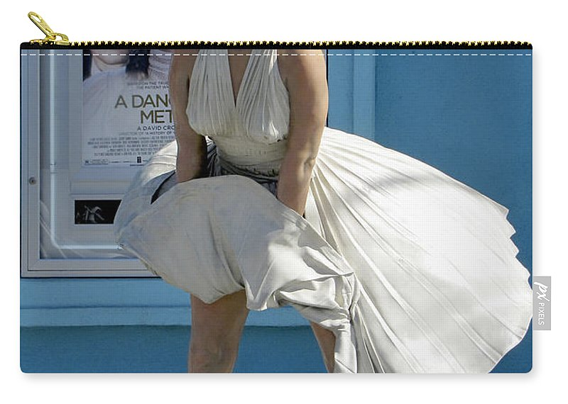 Fashion Carry-all Pouch featuring the photograph Key West Marilyn by Bob Slitzan