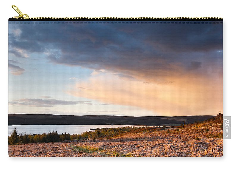 Northumberland Carry-all Pouch featuring the photograph Kielder At Sunset by David Head
