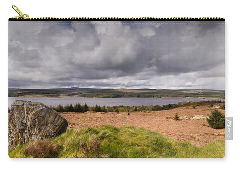 Northumberland Carry-all Pouch featuring the photograph Kielder Water Panorama by David Head