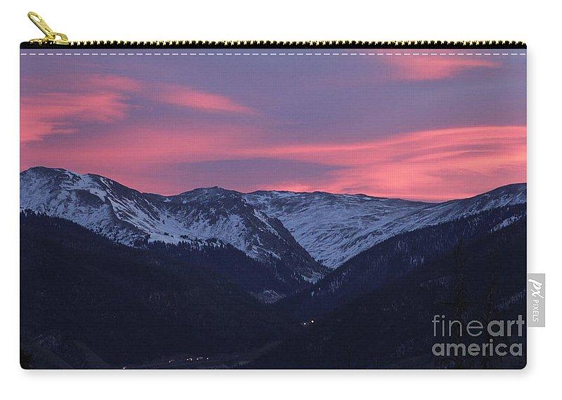 Sunrise Carry-all Pouch featuring the photograph Killian's Sunrise by Fiona Kennard