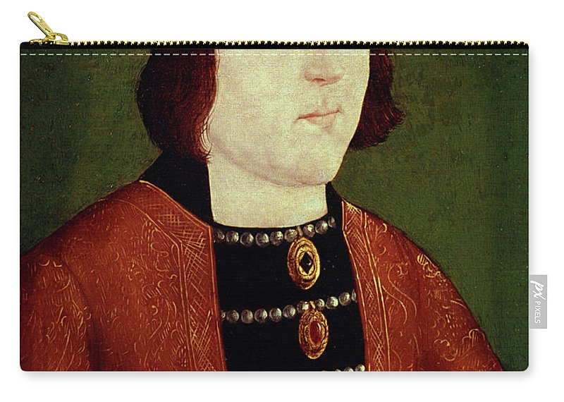 15th Century Carry-all Pouch featuring the painting King Edward Iv Of England by Granger