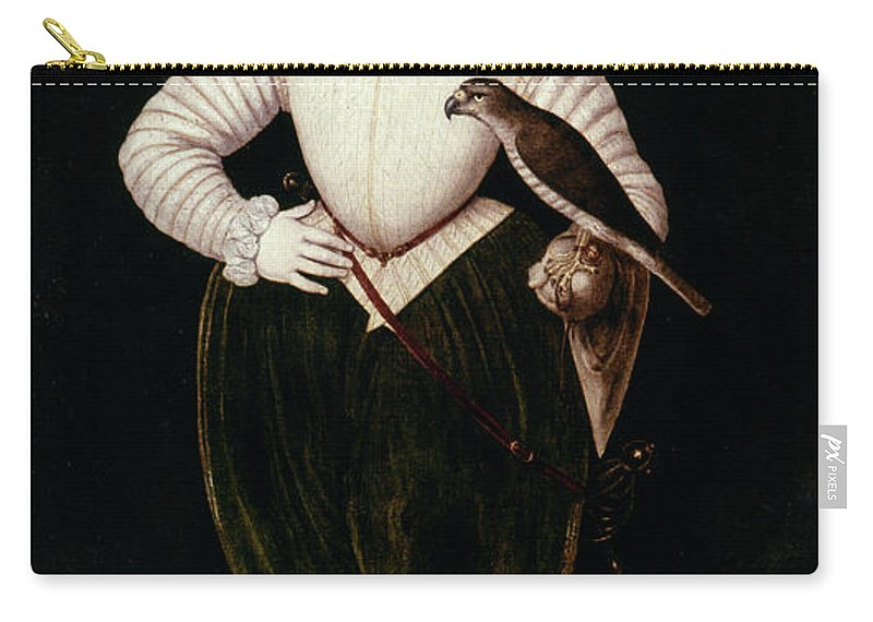 1574 Carry-all Pouch featuring the painting King James I Of England by Granger