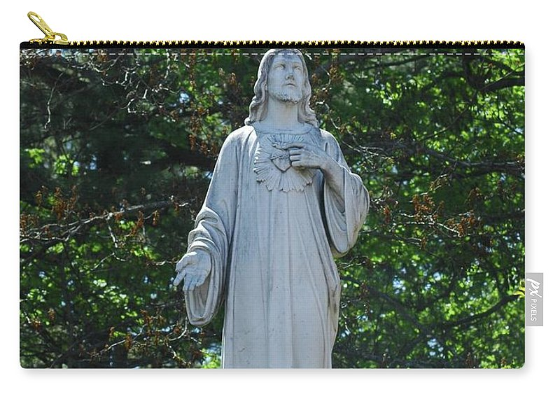 Jesus Carry-all Pouch featuring the photograph King Of Kings by Kathleen Struckle