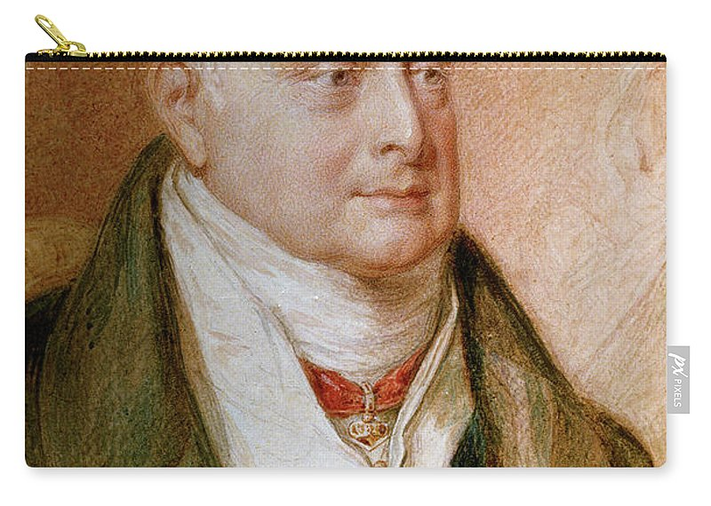 1830 Carry-all Pouch featuring the painting King William Iv Of England (1765-1837) by Granger