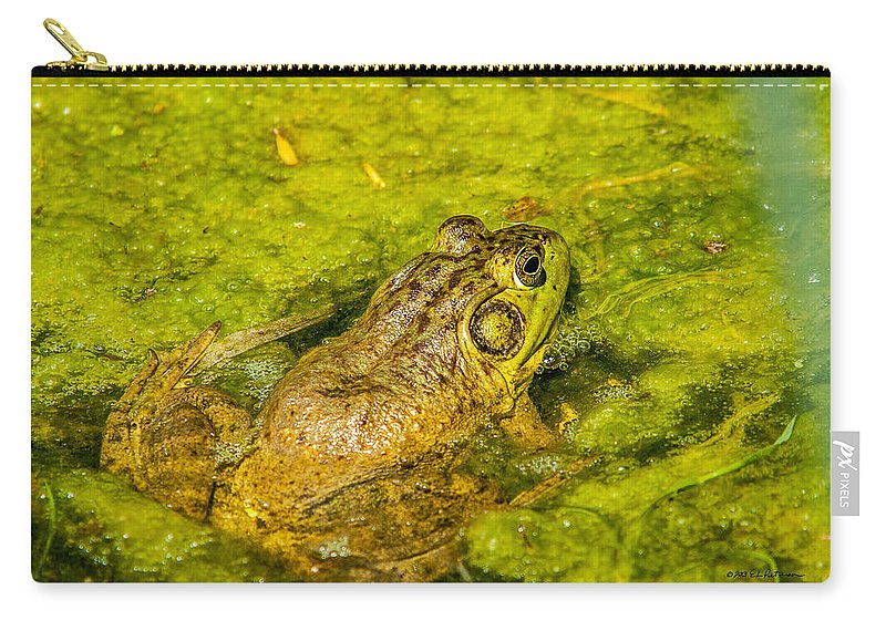Heron Heaven Carry-all Pouch featuring the photograph Kiss Me by Edward Peterson