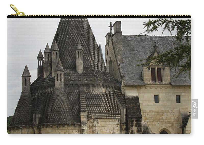 Kitchen Carry-all Pouch featuring the photograph Kitchenbuilding - Fontevraud by Christiane Schulze Art And Photography