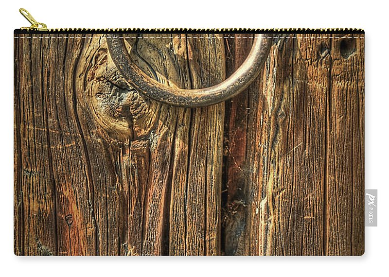 Wood Carry-all Pouch featuring the photograph Knock On Wood by Evelina Kremsdorf