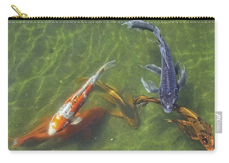 Koi Carry-all Pouch featuring the photograph Koi by Daniel Sheldon