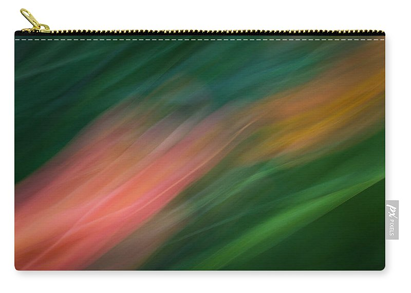 Motion Blur Carry-all Pouch featuring the photograph Koi by Dayne Reast