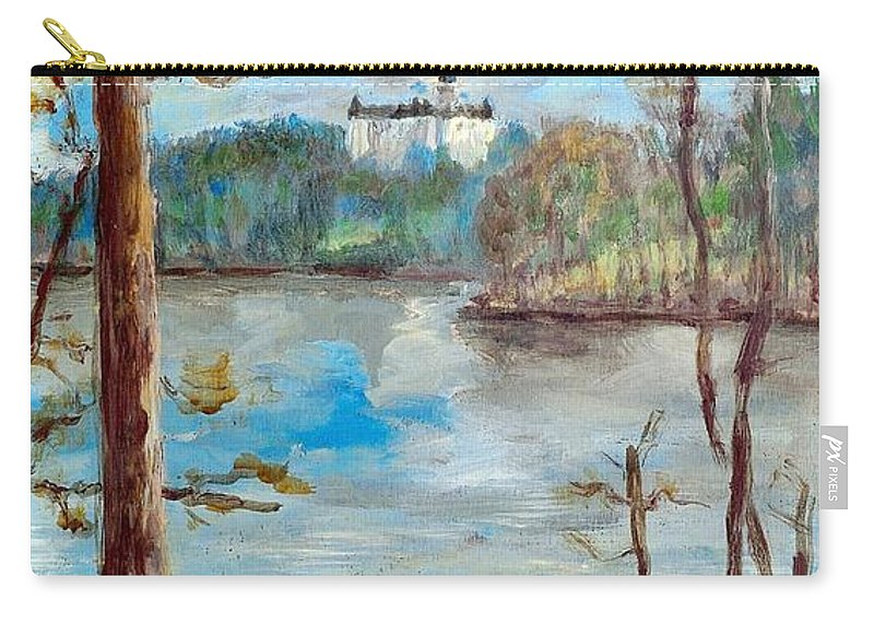 Ancient Carry-all Pouch featuring the painting Konopiste by Martin Capek
