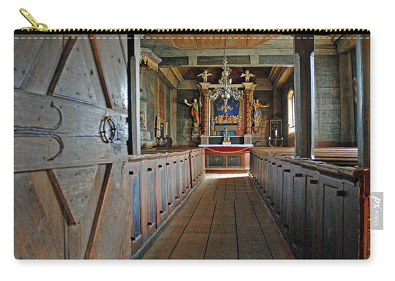 Kulturen Carry-all Pouch featuring the photograph Kulturen Bosebo Kyka Lund Se 7 by Jeff Brunton