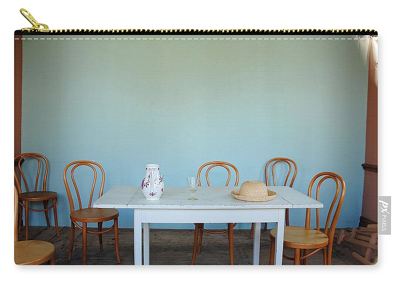 Kulturen Carry-all Pouch featuring the photograph Kulturen Summerhuset Lund Se 2 by Jeff Brunton