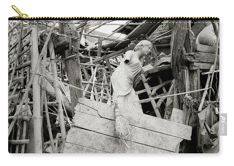 Kumortuli Carry-all Pouch featuring the photograph Kumar Tulli by Shaun Higson