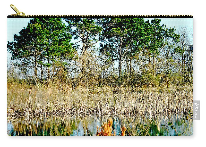 Refuge Carry-all Pouch featuring the photograph Lacassine Nwr by Lizi Beard-Ward