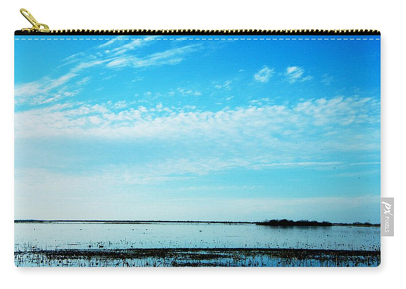 Wildlife Refuge Carry-all Pouch featuring the photograph Lacassine Pool Louisiana Afternoon by Lizi Beard-Ward