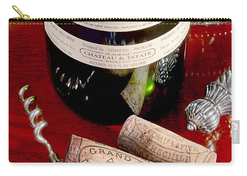 Chateau Lafite Carry-all Pouch featuring the photograph Lafite by Jon Neidert