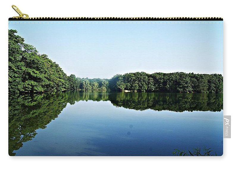 Lagoon Carry-all Pouch featuring the photograph Lagoon II by Joe Faherty