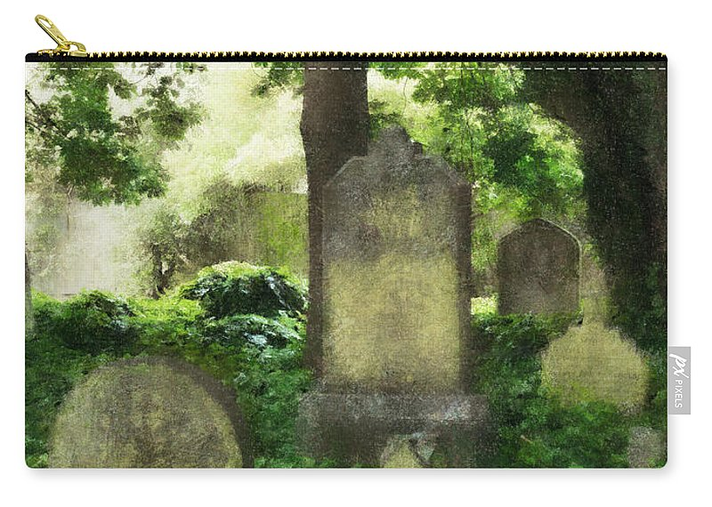Ivy Carry-all Pouch featuring the photograph Lain Under An Ivy Blanket by Steve Taylor