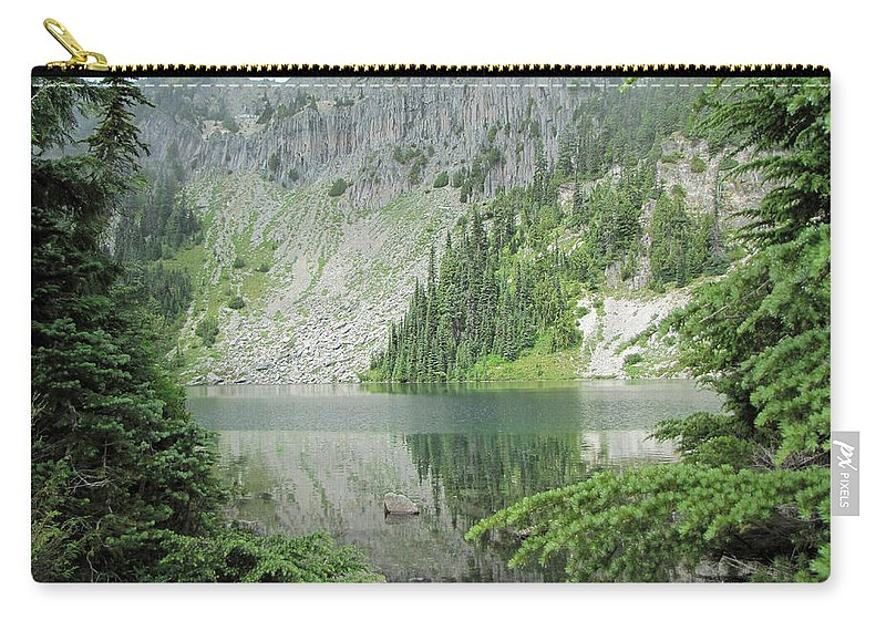 Pacific Northwest Carry-all Pouch featuring the photograph Lake Eunice by Tikvah's Hope