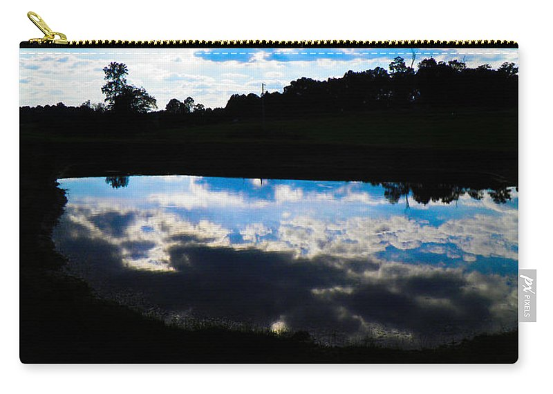 Pond Carry-all Pouch featuring the photograph Lake Goad by Nick Kirby