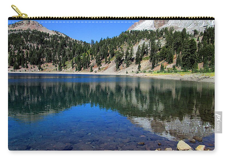 Photograph Carry-all Pouch featuring the photograph Lake Helen by Kathy Moll