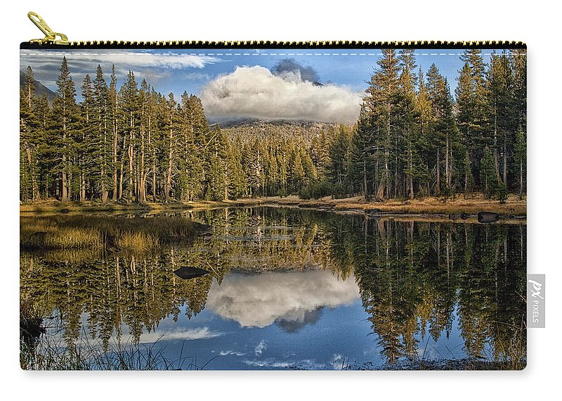 Lake Carry-all Pouch featuring the photograph Lake Near Olmstead Point Yosemite by Greg Kluempers