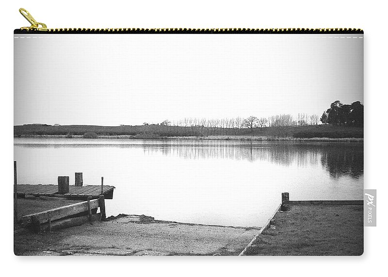 New Zealand Carry-all Pouch featuring the photograph Lake Ngaroto by Les Cunliffe