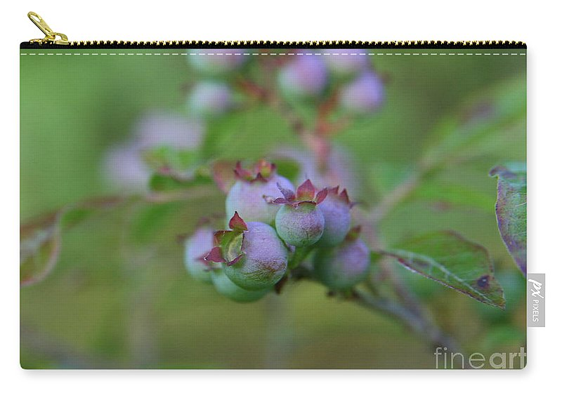 Flower Photography Carry-all Pouch featuring the photograph Lake Side by Neal Eslinger