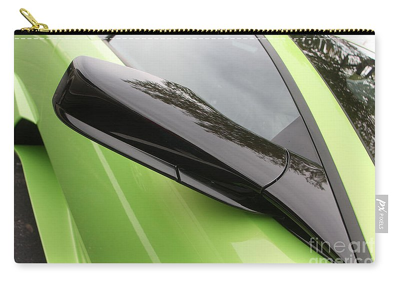 Lamborghini Carry-all Pouch featuring the photograph Lambopassmir8715 by Gary Gingrich Galleries