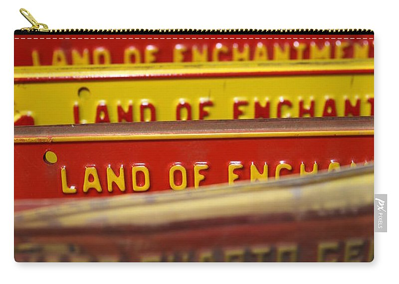 Land Of Enchantment Carry-all Pouch featuring the photograph Land Of Enchantment by Lynn Sprowl
