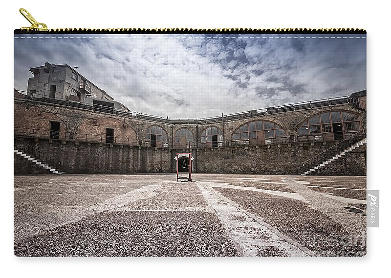 British Carry-all Pouch featuring the photograph Landquard Fort by Svetlana Sewell