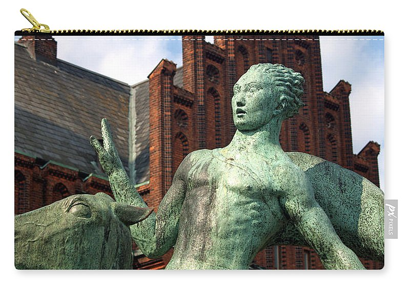 Landskrona Carry-all Pouch featuring the photograph Landskrona Se 106 by Jeff Brunton