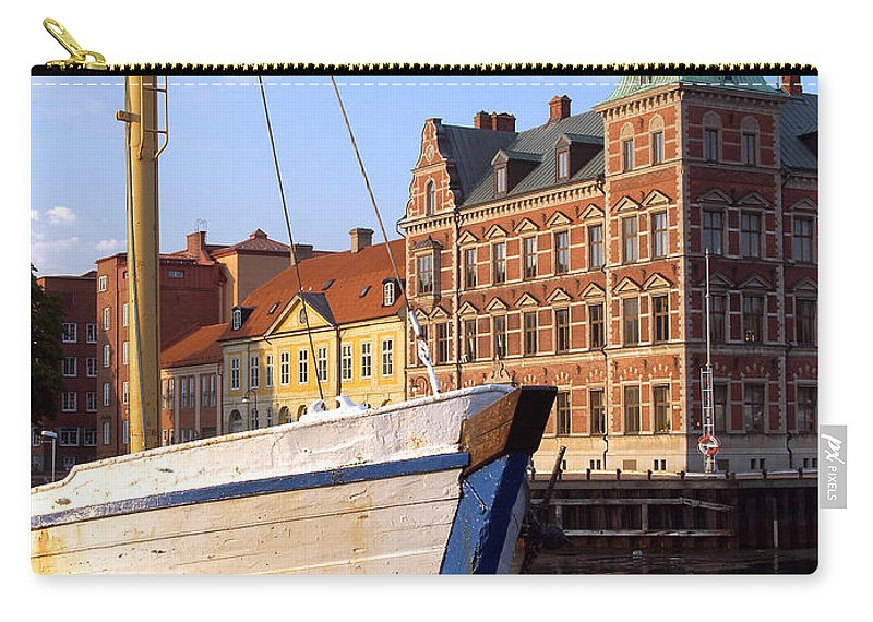 Landskrona Carry-all Pouch featuring the photograph Landskrona Se 204 by Jeff Brunton