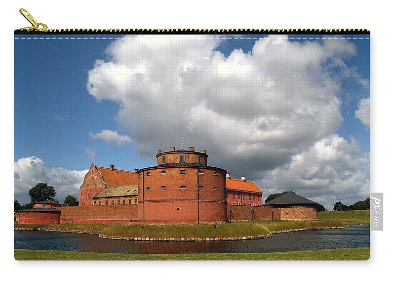 Landskrona Carry-all Pouch featuring the photograph landskrona SE Slott Citadellet 03 by Jeff Brunton