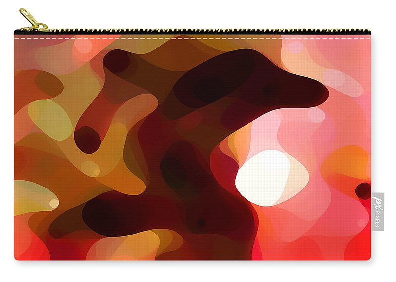 Bold Carry-all Pouch featuring the painting Las Tunas by Amy Vangsgard