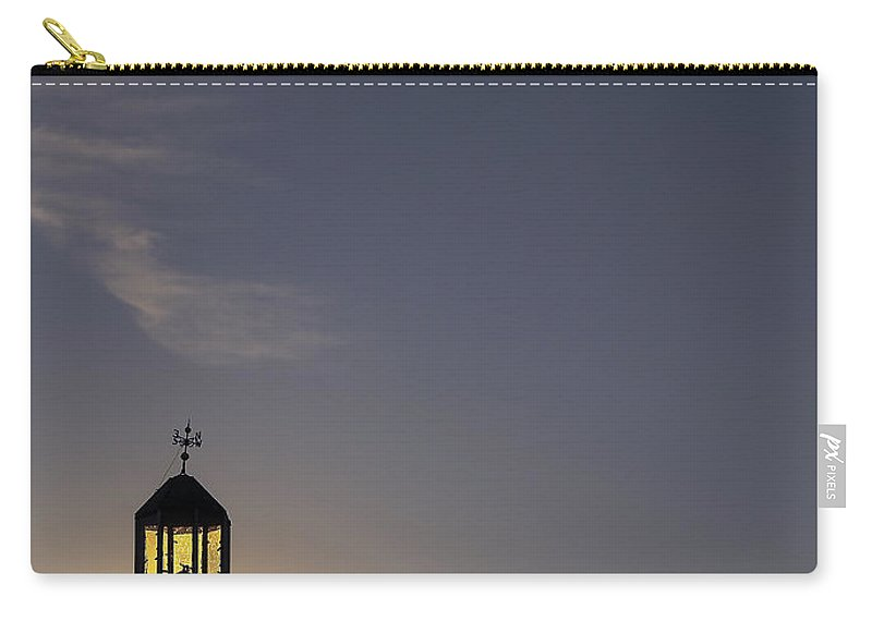 Cloud Carry-all Pouch featuring the photograph Last Call by Evelina Kremsdorf