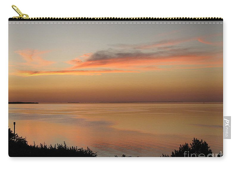 Sunset Carry-all Pouch featuring the photograph Last Golden Rays Of Light by Christiane Schulze Art And Photography
