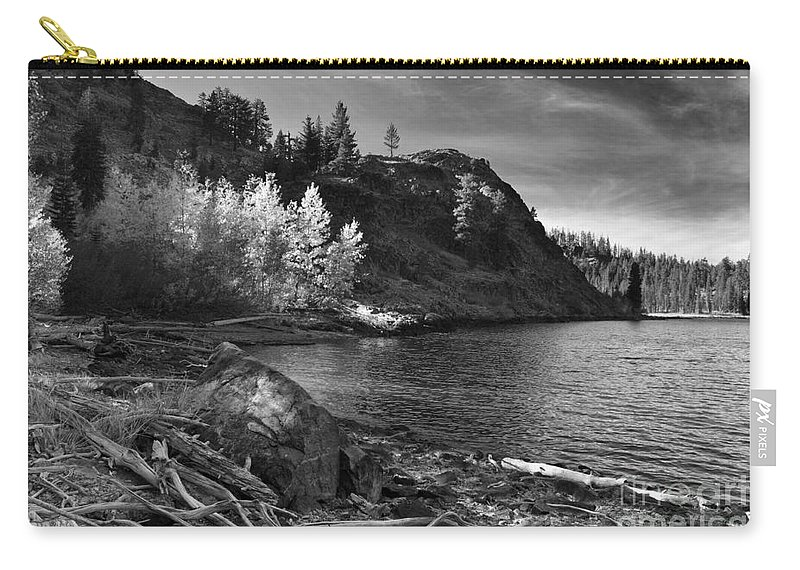 Aspens Carry-all Pouch featuring the photograph Last Light Before The Storm by James Eddy