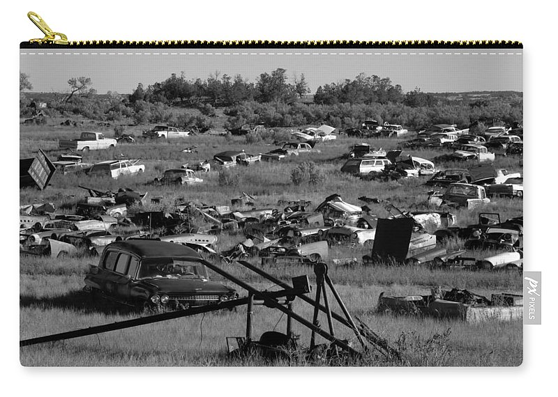 Fine Art Photography Carry-all Pouch featuring the photograph Last Ride by David Lee Thompson