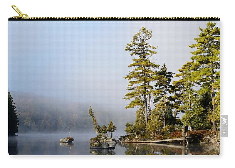 Island Carry-all Pouch featuring the photograph Last Warmth by Thomas Phillips