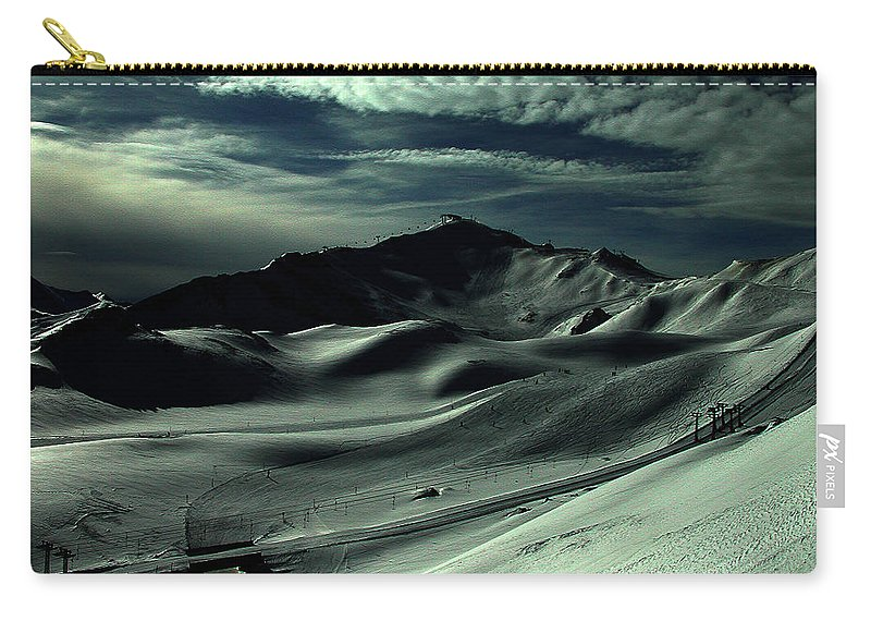Colette Carry-all Pouch featuring the photograph Late Afternoon In The Mountains by Colette V Hera Guggenheim