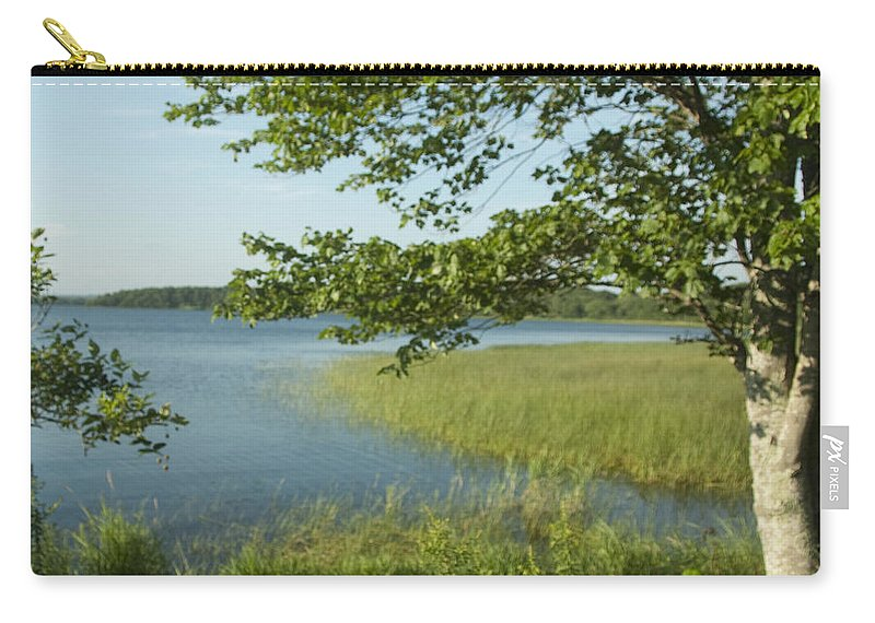 Photography Carry-all Pouch featuring the photograph Late Afternoon On Worden Pond by Steven Natanson